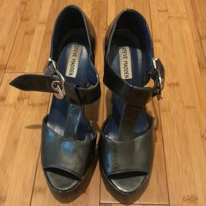 "Steve Madden ""Ragerr"" Patent Leather Heels"